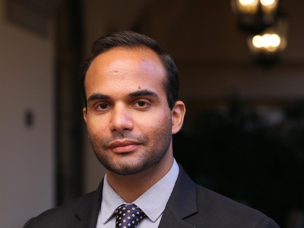 Former Trump adviser George Papadopoulos. Picture: Moloshok Photography
