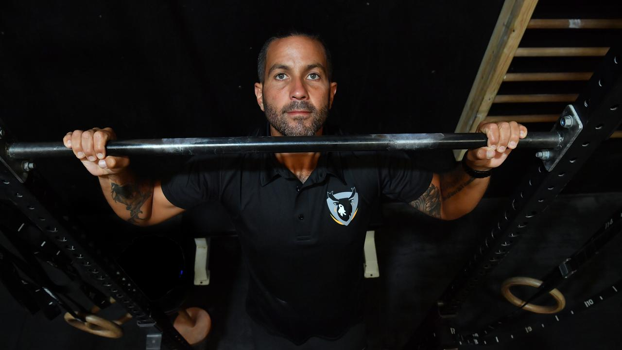 GAME ON: Jamie Milne is hoping to do 8000 pull-ups in 24 hours. Photo: John McCutcheon / Sunshine Coast Daily