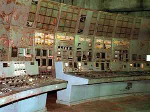 Eerie Chernobyl control room opens to tourists