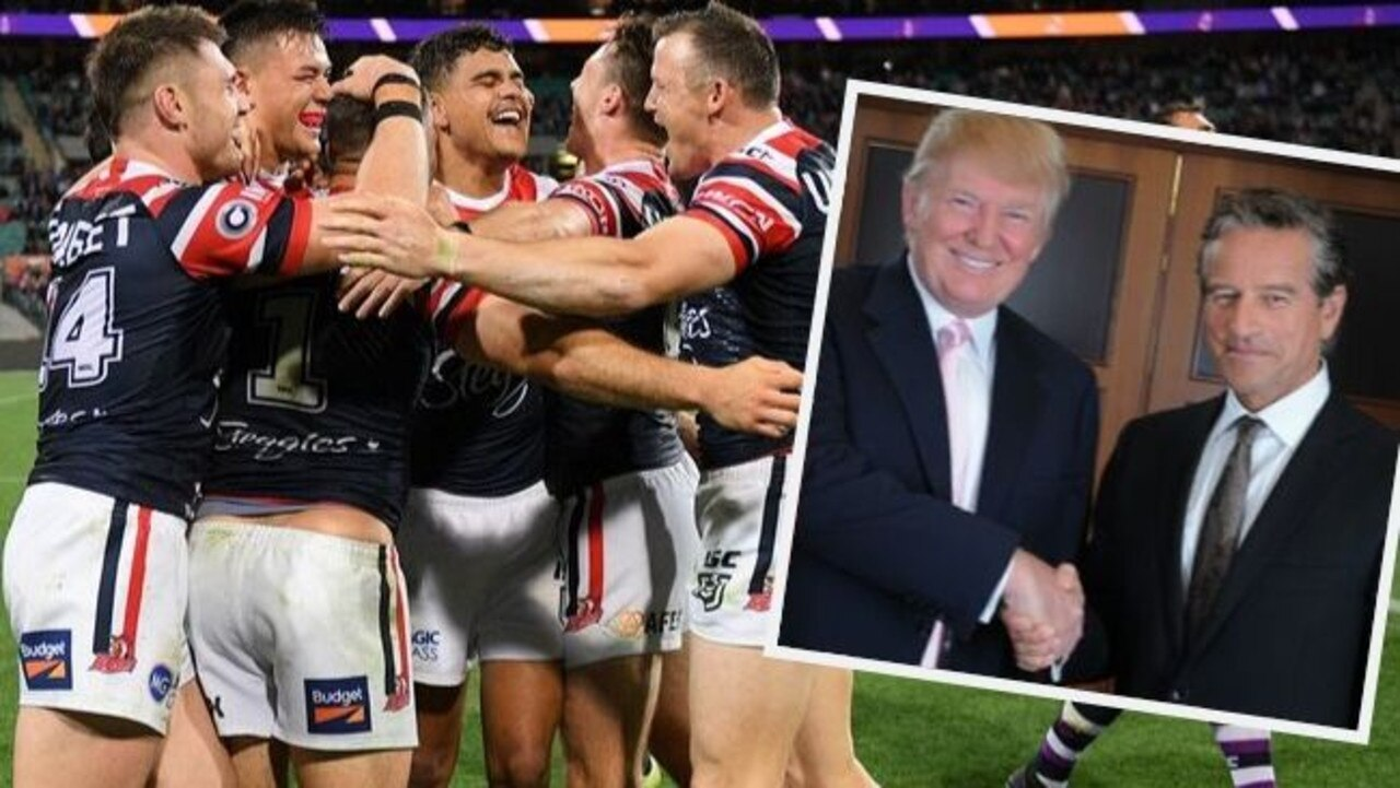 Mark Bouris says NRL rivals are jealous of the Roosters' success.