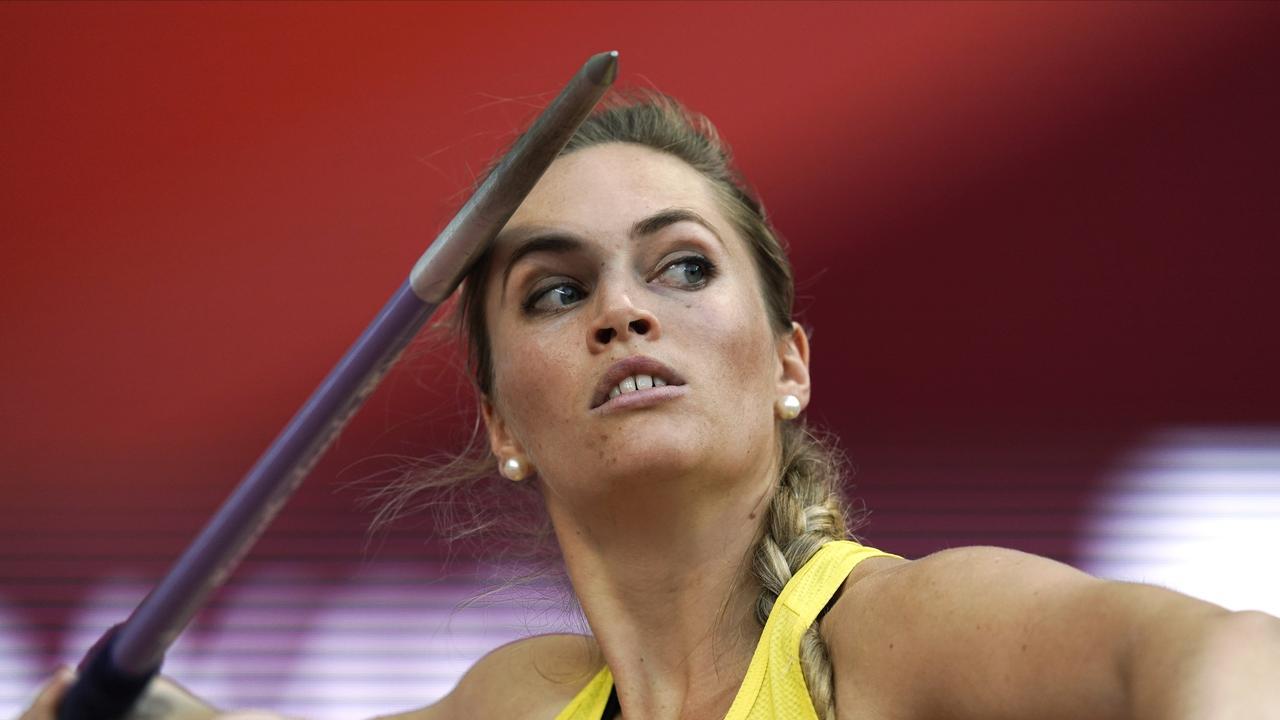 Kelsey-Lee Barber has underwhelmed in Doha so far. Picture: AP