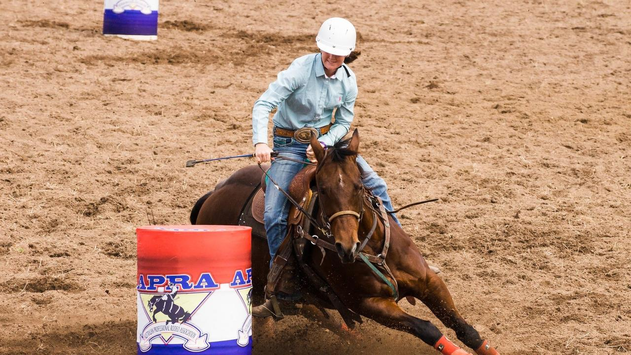 FINALS TIME: Ellysa Kenny nabs top title in the Australian Professional Rodeo Association for Breakaway Roping