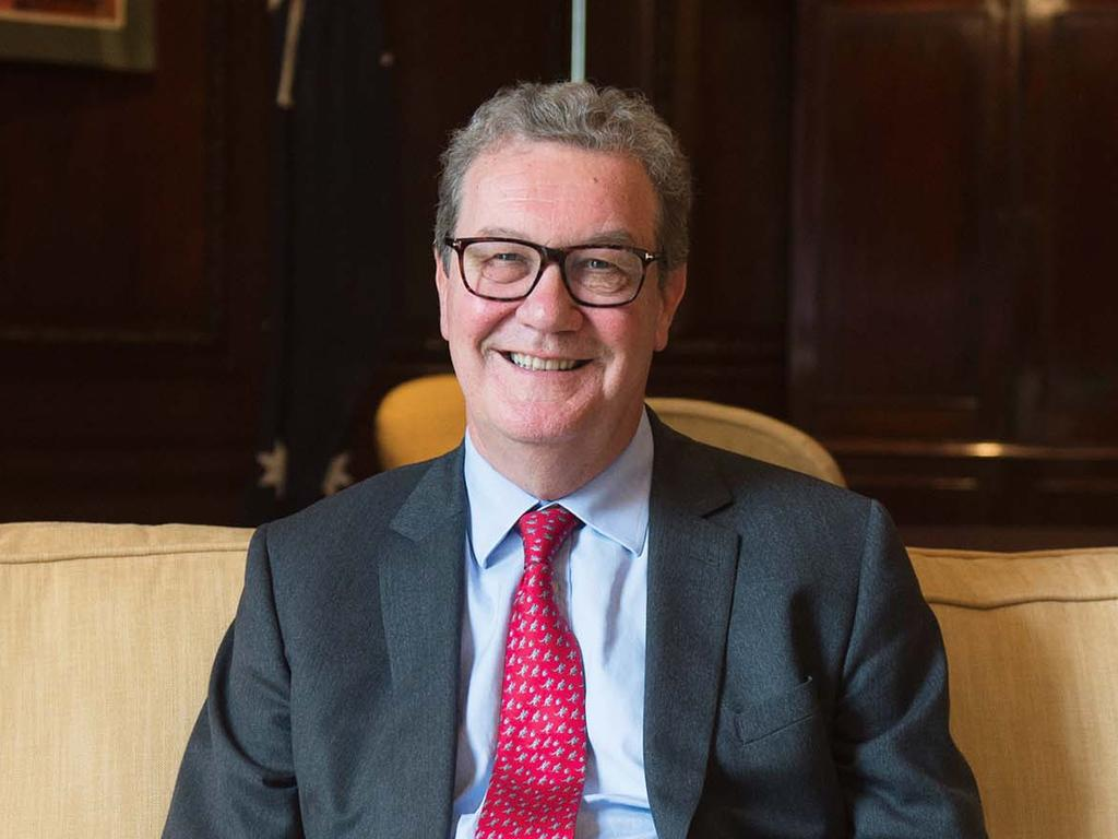 Former Australian High Commissioner to The UK Alexander Downer. Picture: i-Images