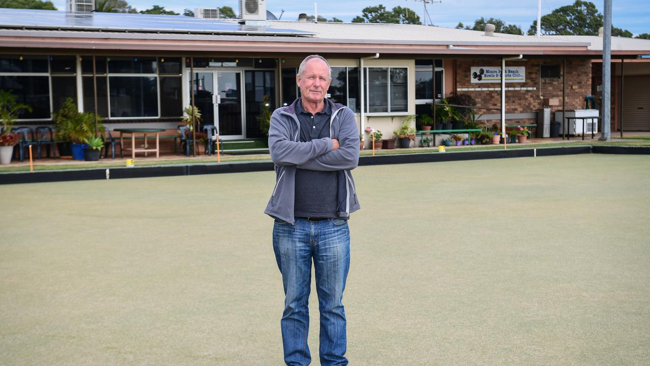 Grant Errington ponders the future of the Moore Park Beach Bowls Club when it went into liquidation.