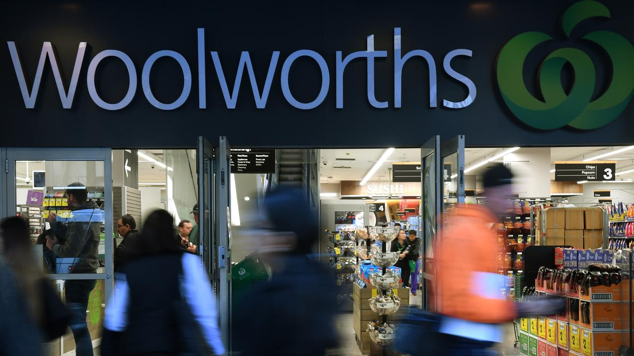 Shoppers will now benefit from a higher conversion rate of Woolworths Rewards points to Qantas Frequent Flyer points. Picture: Dean Lewins/AAP