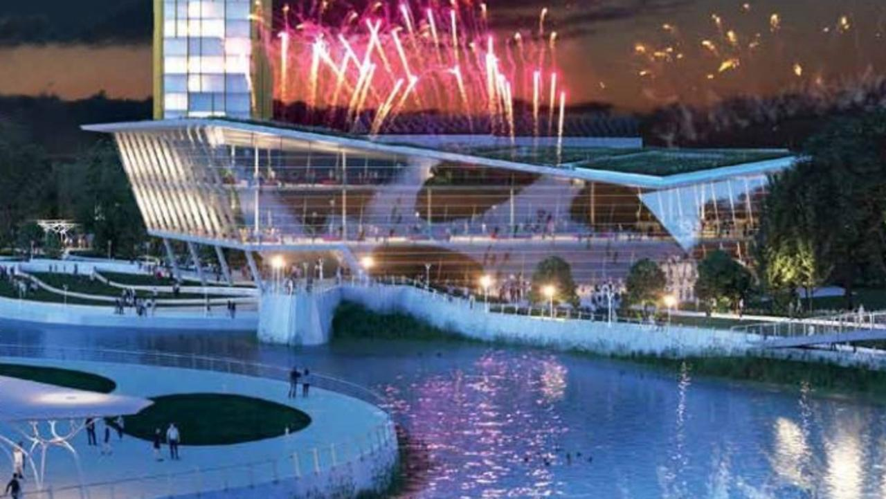 IMPRESSION: An artist's impression of a possible integrated resort development in the new Maroochydore CBD.