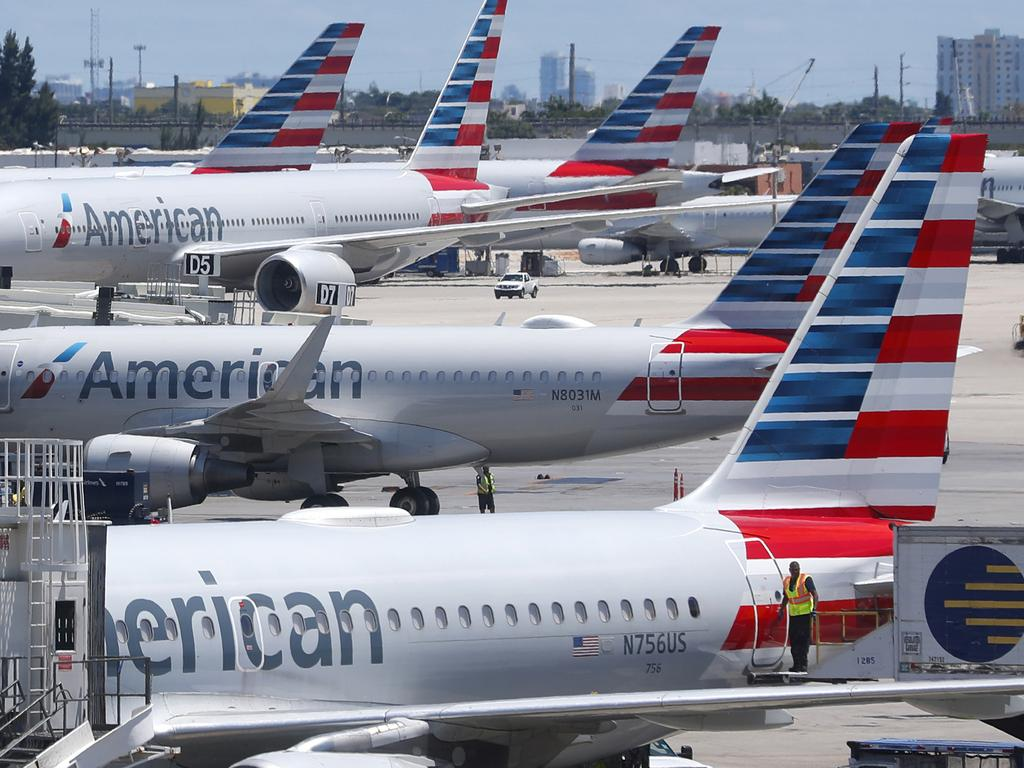American Airlines has kicked passengers off planes for smelling bad. Picture: AP/Wilfredo Lee