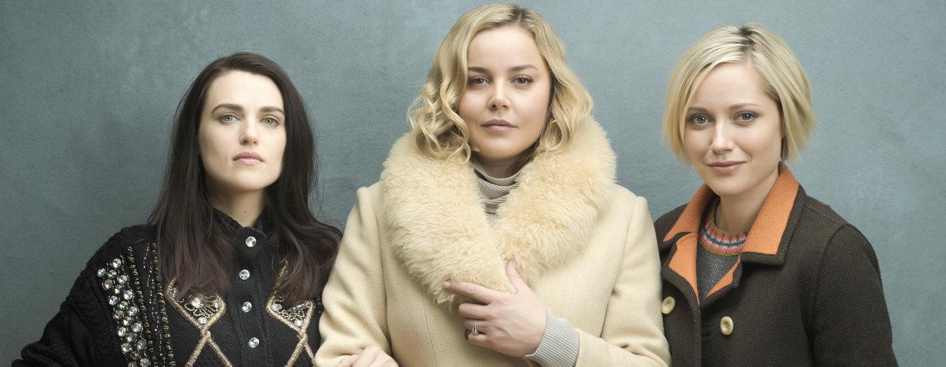 Katie McGrath Abbie Cornish and Georgina Haig star in Secret Bridesmaids' Business.