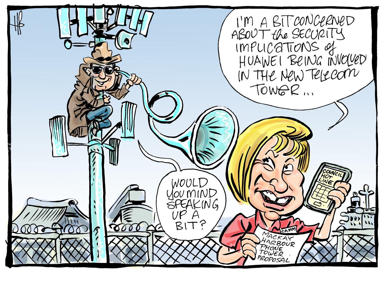 Harry Bruce cartoon.