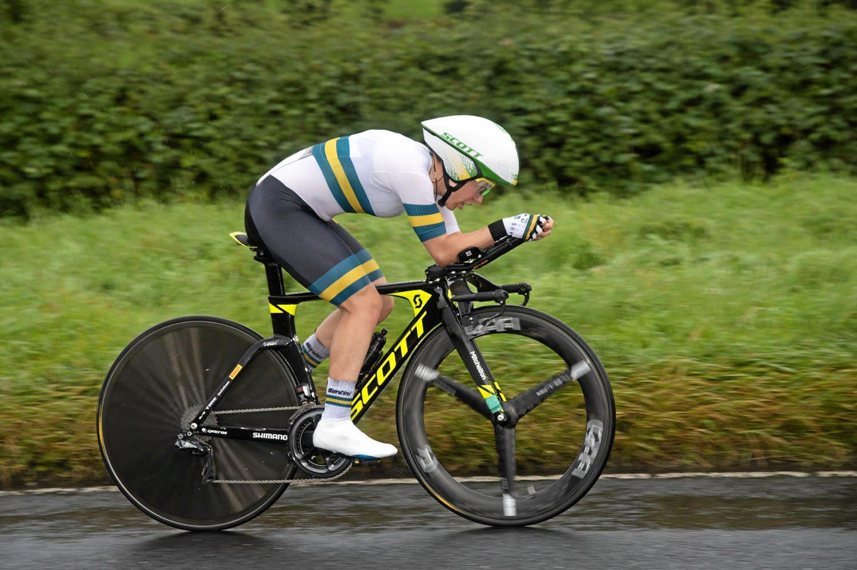 SPRATT: Amanda Spratt won bronze in the 2019 UCI Road World Championships women's road race.