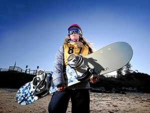'I want to be number one in two years': Snowboarder's dream