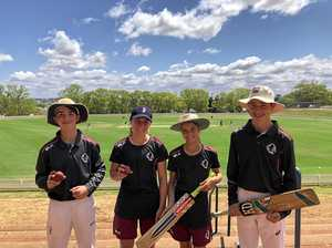 Queensland's future cricketers put through paces at Grammar