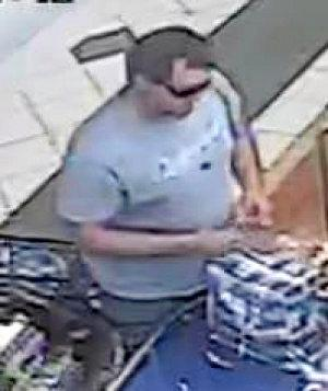 Police believe the persons pictured in this image may be able to assist officers with the investigation into a recent Fraud which occurred on Wednesday April 10 at 1pm. QP1900714001
