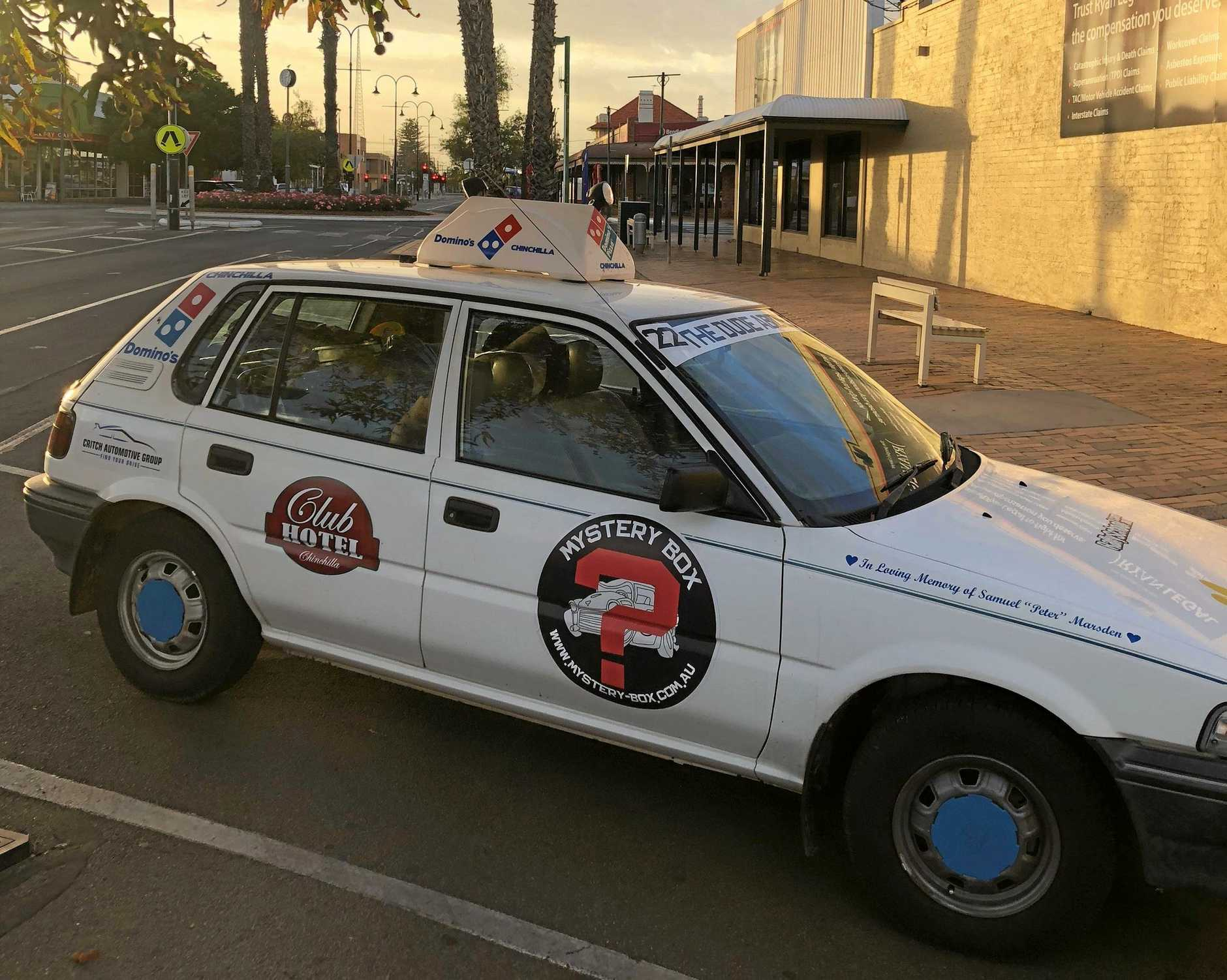 CLOCKING UP THE KILOMETRES: Tanya Barker and Emmeline Francis will drive their car from Alice Springs to the Gold Coast as part of Shitbox Rally 2020 to help raise money for cancer.