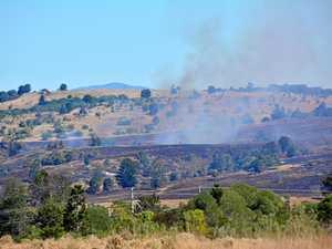 Crews respond to South Burnett fire along highway