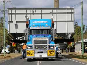 Superload on move from Geelong to Western Victoria