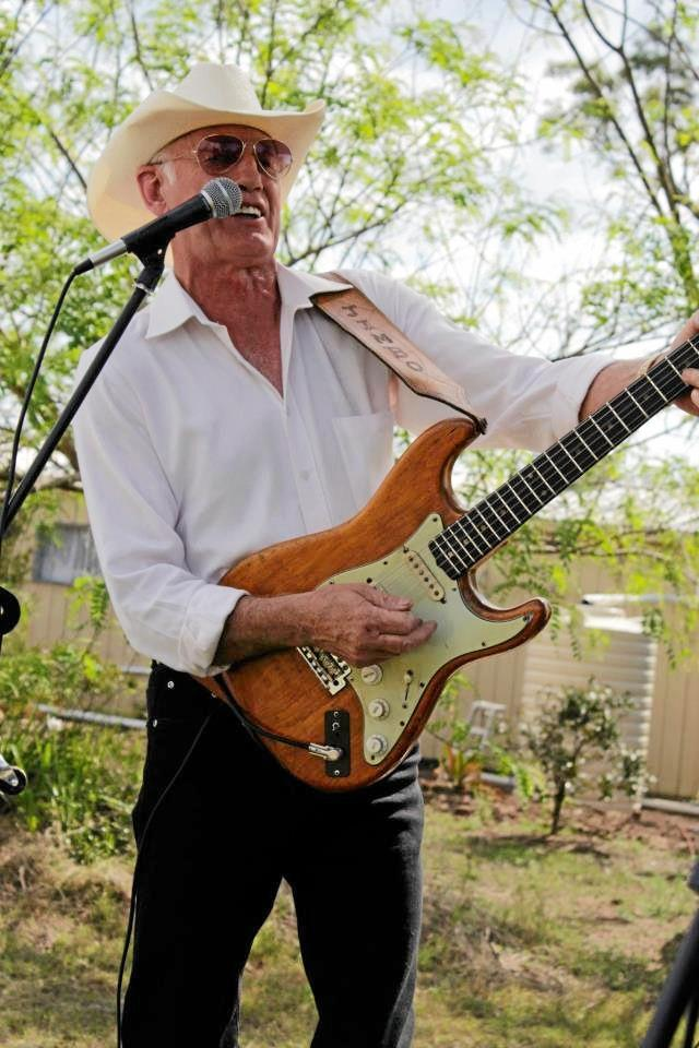 DROUGHT FUNDS: Musician Jim Cooper wrote a song capturing the drought and has set out to raise $10,000 to provide water to Queenslanders suffering without water.