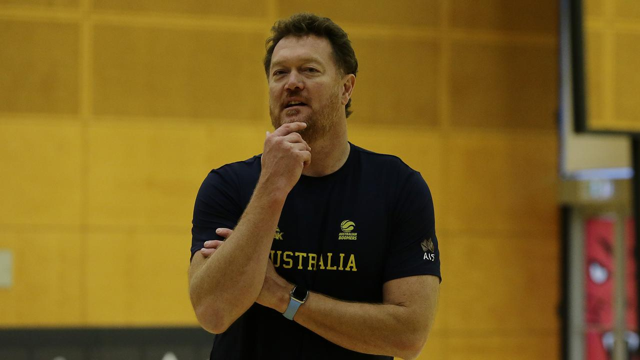 Luc Longley had a decorated NBA career and is now an assistant coach with the Boomers. Picture: Getty