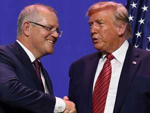 ScoMo under pressure over Trump call