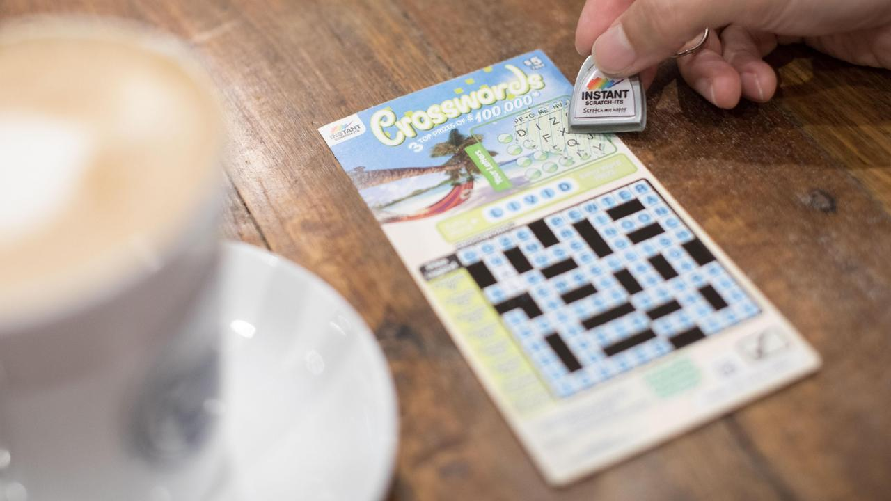 A Grange man has won $150,000 with a Jumbo Crosswords Instant Scratch-Its ticket.