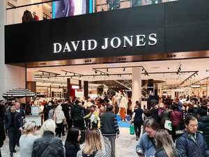 David Jones closes major city site