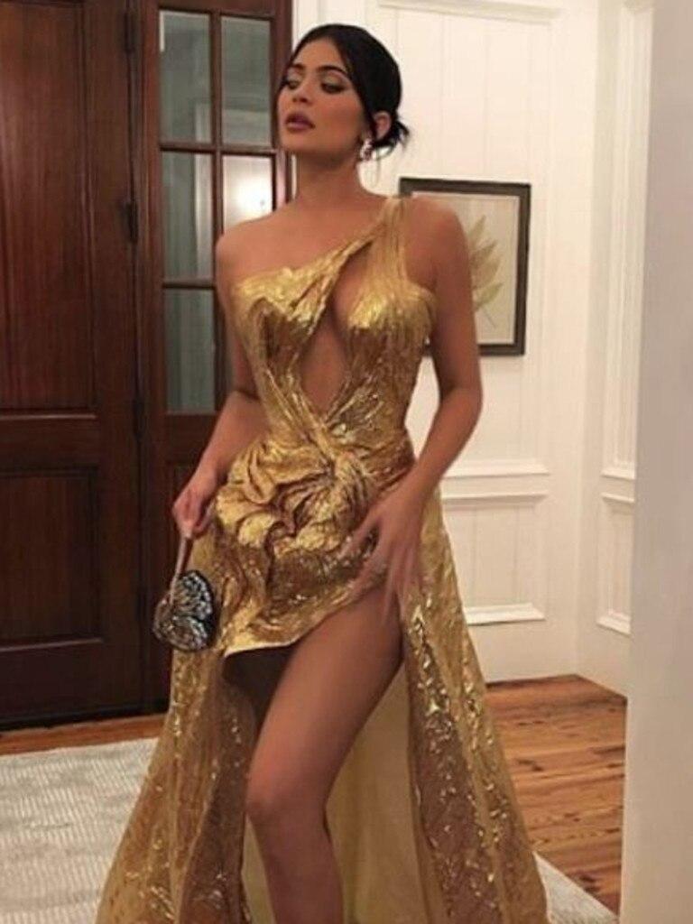 Kylie Jenner at Justin Bieber's wedding