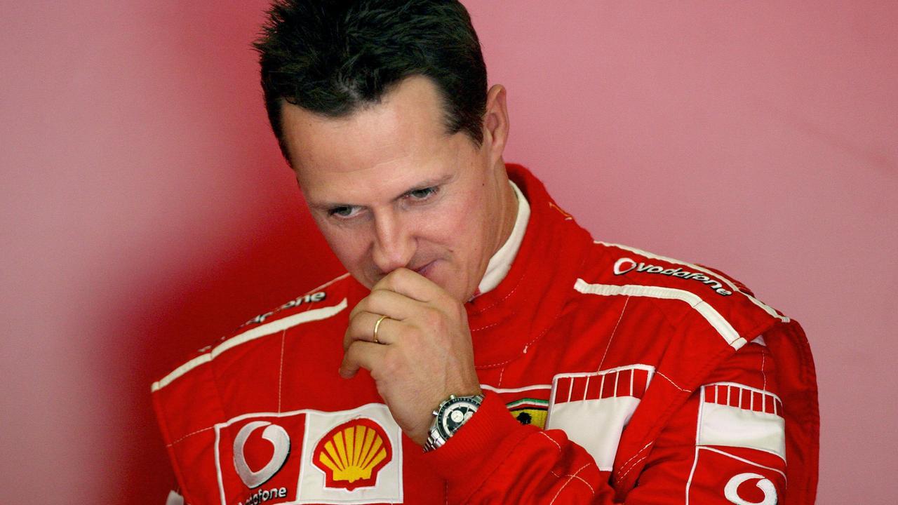 Michael Schumacher. (Photo by JOSE LUIS ROCA / AFP)