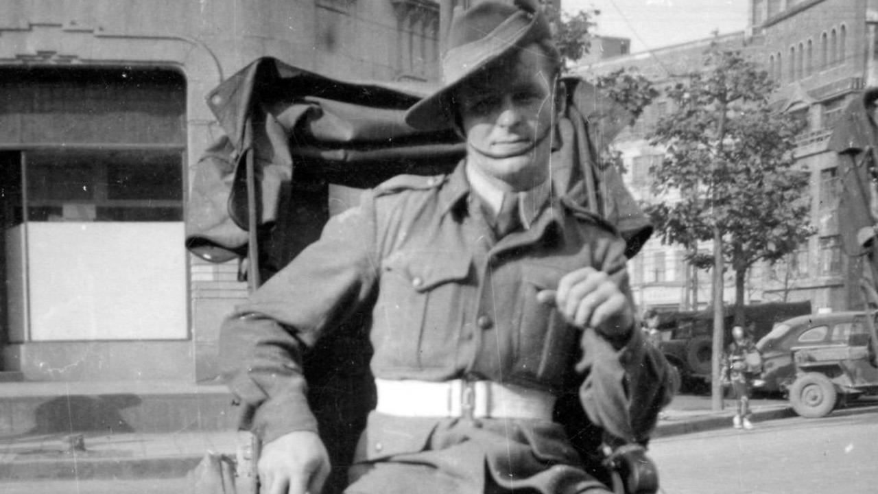 Vince Healy pictured on leave in Tokyo just after World War II. He was only 24 when he was killed in action in Korea in 1951.