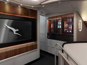 Qantas plane's new game-changing room
