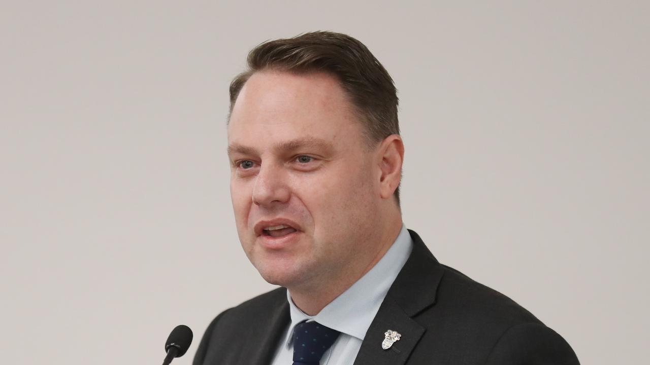 Brisbane Lord Mayor Adrian Schrinner