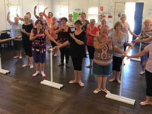 Ballet Belles proving age is no barrier when it it comes to barre