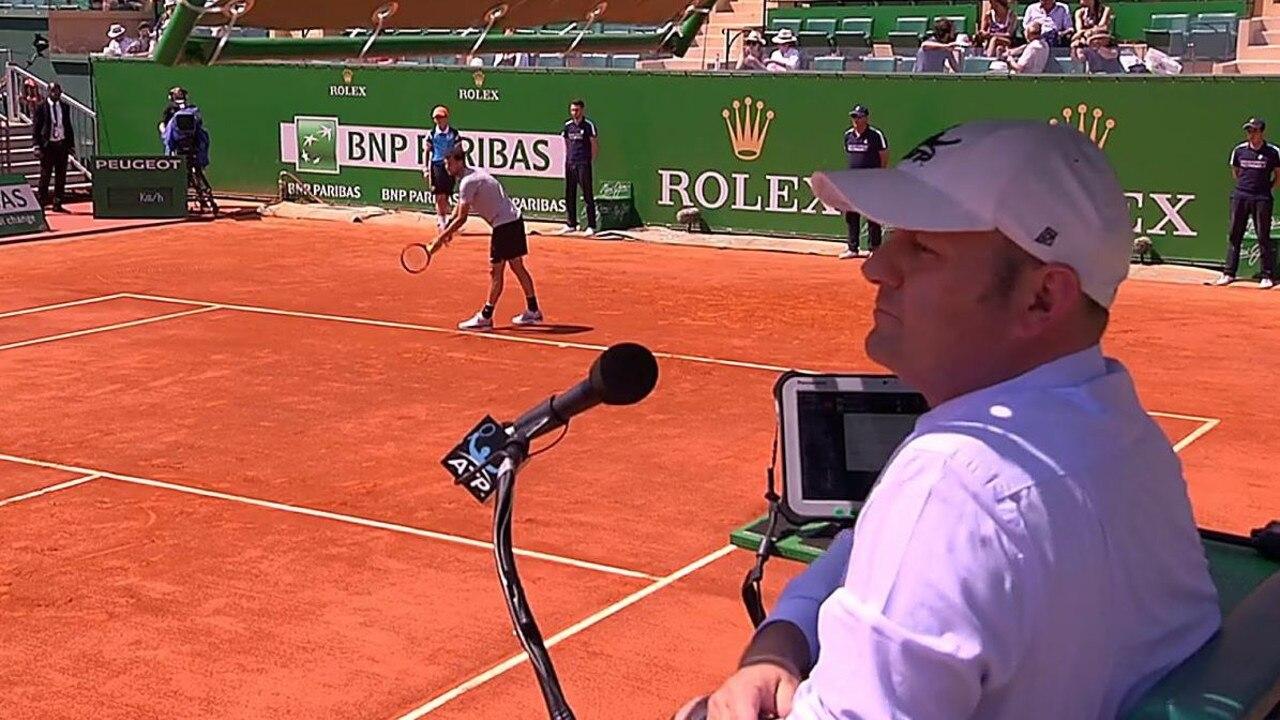 Tennis umpire Gianluca Moscarella has been provisionally suspended.