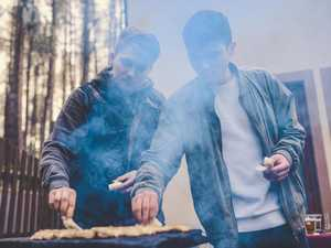 Drought-affected teens grill to chill