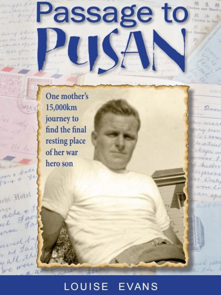 The cover of Louise Evans' book Passage to Pusan.