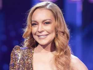 Lindsay's Masked Singer diva moment