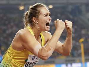 Golden girl is Australia's newest world champion