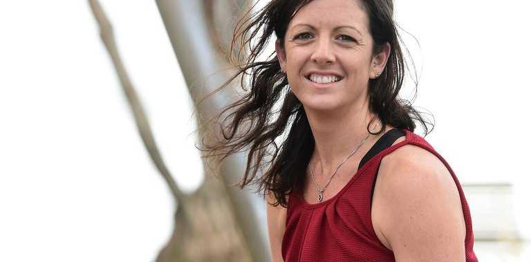 Amy Berndt is running a marathon to raise awareness about heart disease.