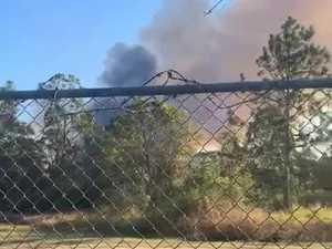 Casino railway fire