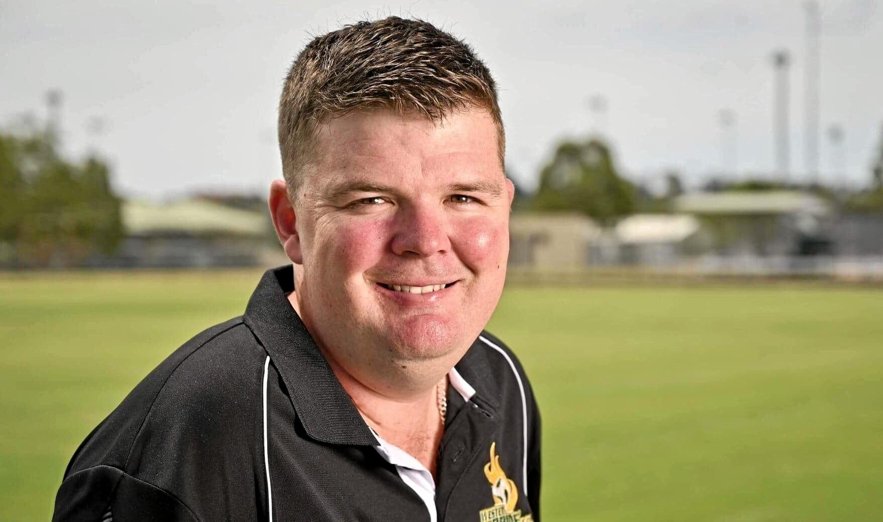 Newly-appointed Western Pride head coach Andrew Catton.