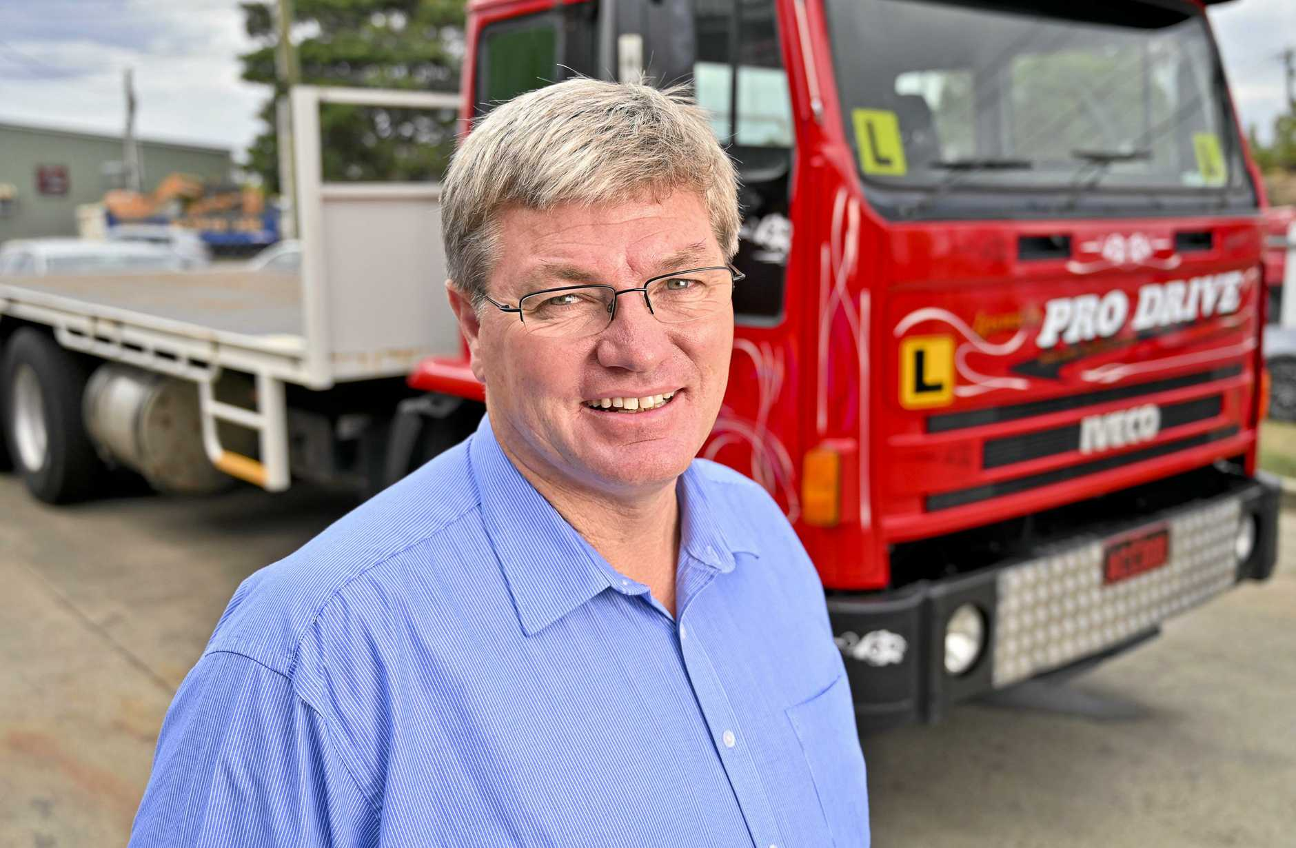 NEW TERRITORY: Pro Drive Ipswich managing director David Cullen is expanding the business to Brisbane and the Gold Coast.