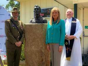 The story behind Bangalow's new bronze bust