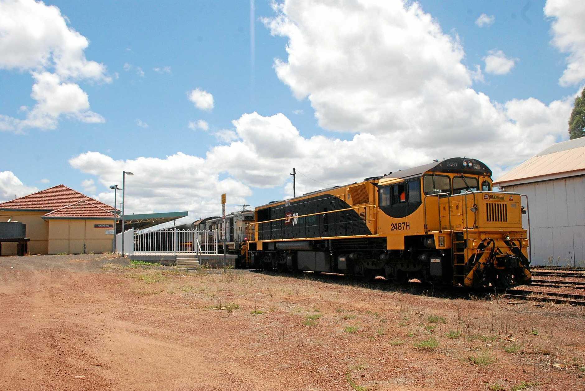 The Westlander train.