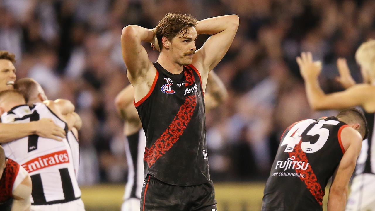 Joe Daniher has been strongly linked to Sydney. Picture: Michael Dodge