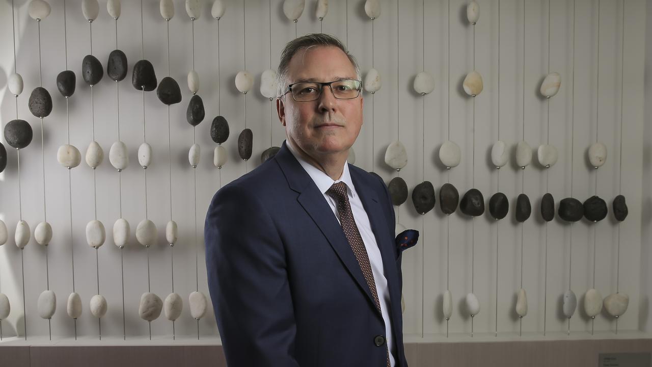 Pembroke Resources chief executive Barry Tudor. Photo: Mark Cranitch.