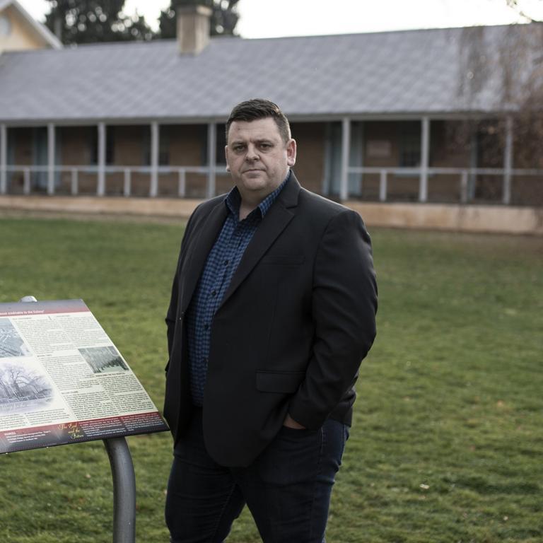 Derwent Valley Mayor Ben Shaw. Picture: EDDIE SAFARIK