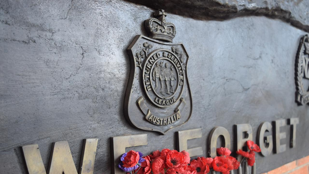 RSL: Lest we forget.