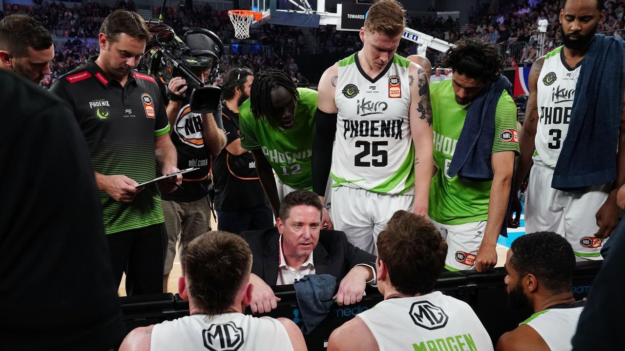 Phoenix coach Simon Mitchell says teams should expect a tough contest against his men. Pic: AAP