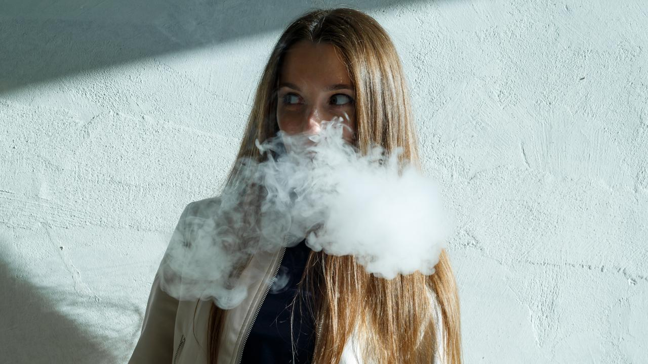 More and more young people are taking up vaping despite health warnings. Picture: supplied