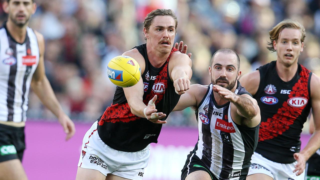 Joe Daniher's Sydney trade wish could depend on Carlton. Picture: Michael Klein