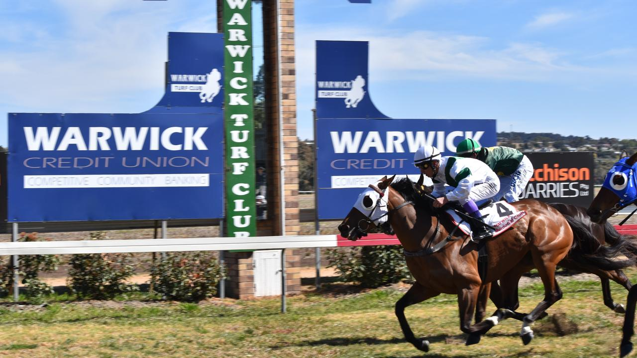 TAB racing returns to Allman Park on Saturday when Warwick Turf Club stages a six-racing meeting.